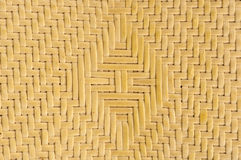 Texture of thai native weave Stock Image
