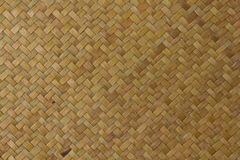 Texture of Thai native weave mat Stock Photos