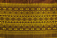 Texture of thai pattern craftsmanship Royalty Free Stock Photos