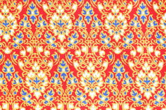 Texture of thai style cloth Royalty Free Stock Photos