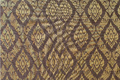 Texture of Thai style silk Royalty Free Stock Photo