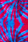 Texture tie dye fabric background Royalty Free Stock Images