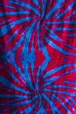 Texture tie dye fabric background Stock Images