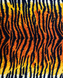 Texture of tiger fabric stripes stock image