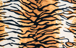 Texture of tiger leather. For background royalty free stock photos