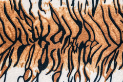 Texture of tiger leather. For background royalty free stock photography