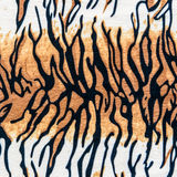 Texture of tiger striped fabric Stock Image