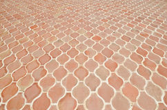 Texture of tile on the floor Stock Photo