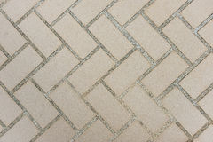 Texture tile flooring crossed Stock Photos