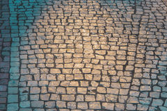 Texture tile Street in Portuguese style Stock Image