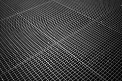 Texture of tiled metal grid Stock Image