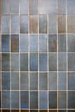 Texture. Tiled wall in the park Royalty Free Stock Photo