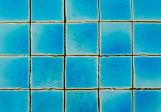 The texture of the tiles in the swimming pool Stock Photo