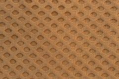 Texture tissée beige de cercle Images libres de droits
