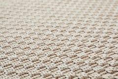 Texture tissée beige de tapis comme fond photo stock