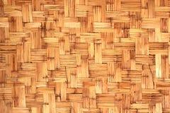 Texture tissée de roseaux produite par résumé Photos stock