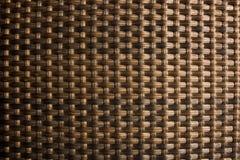 Texture tissée de rotin Photographie stock libre de droits