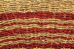 Texture tissée de tapis Photographie stock libre de droits