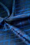 Texture, tissu, fond Tissu de laine Rayures bleu-foncé Bl Photo stock