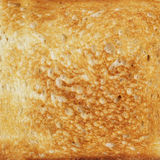 Texture of toasted hot white bread Stock Photography