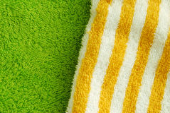 Texture towel Stock Image