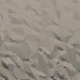 Texture tramée abstraite Images libres de droits