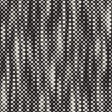 Texture tramée moderne Fond abstrait sans fin avec les places aléatoires de taille Mosaïque chaotique sans couture de places de v illustration de vecteur