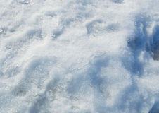 The texture of trampled snow background Royalty Free Stock Photography