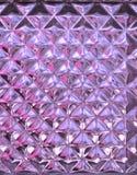 Texture transparente de mur de verre Photo libre de droits