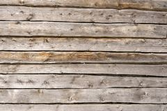 Texture tree. Wide wooden boards. The wall of the barn. background stock photo