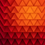 Texture of triangles. Stock Image