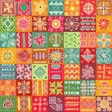 Texture tribale sans joint Image libre de droits
