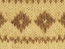 Texture tricotée images stock