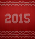 Texture tricotée 2015 Photographie stock