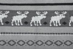 texture tricotée de fond de chandail Photos stock