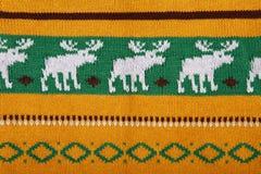 texture tricotée de fond de chandail Photo libre de droits