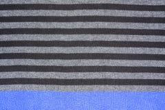 Texture tricotée de laines Images libres de droits