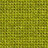 Texture tricotée de panier avec le jaune illustration stock