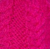 Texture tricotée de tissu Images stock