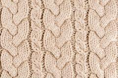 Texture tricotée de tissu Photos libres de droits