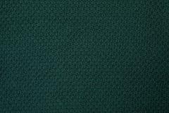 Texture tricotée verte, vue supérieure photo stock