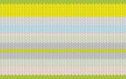 Modèle tricoté de texture avec une rayure Image stock