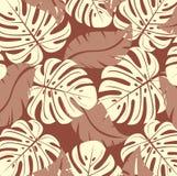 Texture tropicale. Vecteur. Photos libres de droits