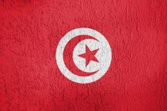Turkey flag texture stock illustration