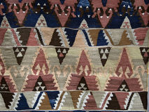 Texture of Turkish Carpet Stock Photography
