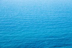 The texture turquoise blue water with ripples Royalty Free Stock Photos
