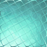 Texture of turquoise tile. Royalty Free Stock Photography