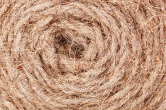 Texture twisted rope Stock Images