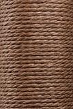 Texture twisted rope Stock Photos