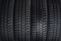 Texture Tyres Royalty Free Stock Image